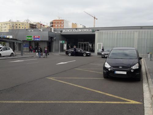 Joaquín Sorolla parking grupo villar obra civil