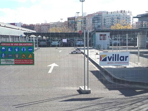 Joaquín Sorolla parking grupo villar obra civil