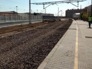 Adecuación de espacios para la construcción de parking en la estación de Nules