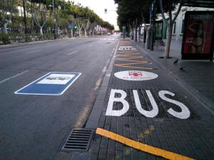Paradas de autobús en Almería