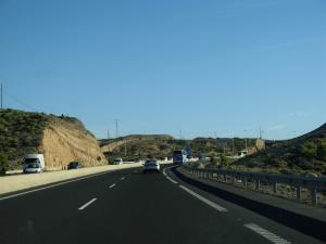 Asfaltado de la carretera TF-1